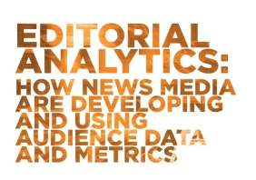 Editorial analytics